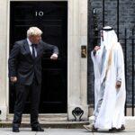 ولي عهد أبوظبي يبحث التعاون الإستراتيجي مع بريطانيا