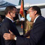 رئيس الوزراء المصري يستقبل الدبيبة في مطار القاهرة