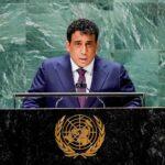 المنفي يبحث سبل إنهاء الأزمة الليبية خلال لقاءات في نيويورك
