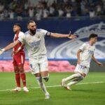 ثلاثية بنزيمة تمنح ريال مدريد الفوز على سيلتا فيجو