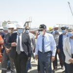 «الكراكة مهاب مميش» تنضم للعمل بمشروع تطوير القطاع الجنوبي لقناة السويس
