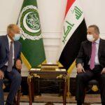 الكاظمي وأبو الغيط يبحثان آخر تطورات القضية الفلسطينية