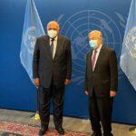 شكري يؤكد لجوتيريش انخراط مصر في مجالات تعزيز حقوق الإنسان