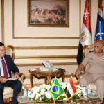 توافق مصري برازيلي على تعزيز التعاون العسكري