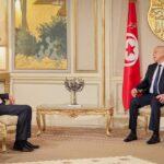 الدبيبة يلتقي قيس سعيد في ثاني زيارة له إلى تونس
