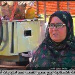 عصير القصب.. وسيلة مسنة باكستانية لسد احتياحات أسرتها