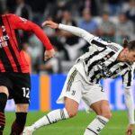 ريبيتش يهدي ميلان التعادل ويحرم يوفنتوس من فوزه الأول في الدوري الإيطالي