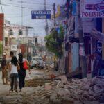 شاهد| لحظة وقوع زلزال مدمر في المكسيك